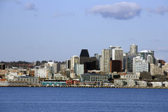 Seattle city skyline Royalty Free Stock Photo