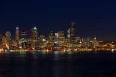 Seattle-Stadt-Geschäftsgebiet Stockbilder
