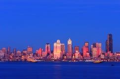 Seattle-Stadtbild Stockfotografie