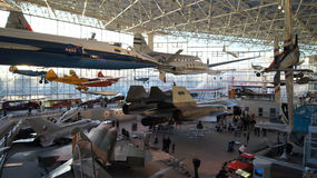 SEATTLE, stan washington, usa - PAŹDZIERNIK 10, 2014: Muzeum lot jest wielkim intymnym przestrzenią i powietrzem Obraz Royalty Free