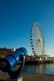 Seattle stora hjul Arkivbild