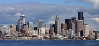 seattle strand Royaltyfri Bild