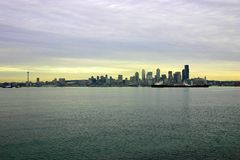 seattle strand Arkivfoto