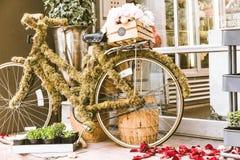 Seattle Street Art. Decro Bike Royalty Free Stock Images