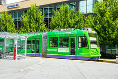Seattle Streetcar Royalty Free Stock Photos