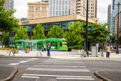 Seattle Streetcar Stock Photography