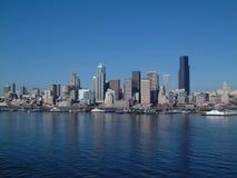 Seattle su acqua immagine stock libera da diritti
