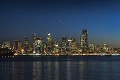 Seattle Sunrise. Royalty Free Stock Images