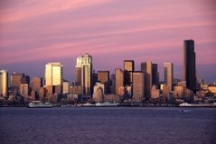 Free Seattle Sunset Royalty Free Stock Photos - 7581878
