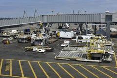 Seattle Tacoma Airport, Vehicles, USA Stock Photos