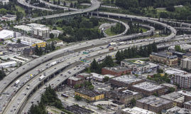 Seattle Traffic Stock Photography