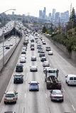 Seattle Traffic, I5 from 45th Street Royalty Free Stock Photo