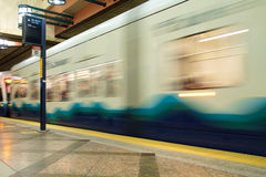 Seattle Transit tunnel Royalty Free Stock Images
