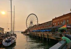 Seattle, Ufergegend Lizenzfreies Stockfoto