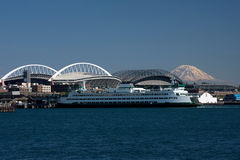 Seattle-Ufergegend lizenzfreies stockbild