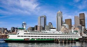 Seattle-Ufergegend, Seattle, Washington, USA stockfotografie