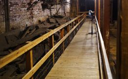 Seattle Underground, Seattle, Washington, USA royalty free stock image
