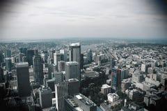 Seattle, USA, am 31. August 2018: Im Stadtzentrum gelegenes Seattle, Washington lizenzfreies stockfoto