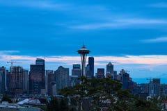 Seattle, USA, am 31. August 2018: Raum-Nadel Seattle stockbilder