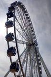 Seattle, USA - September 2, 2018: The Great Wheel ferris wheel, an iconic landmark in Seattle.  royalty free stock photos