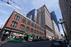 Seattle van de binnenstad Stock Afbeeldingen