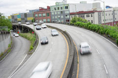 99 Seattle Viaduct tusen staten Royalty-vrije Stock Afbeelding