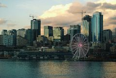 Seattle. View of Seattle Stock Photos