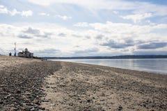 Seattle-vista do parque da descoberta foto de stock royalty free