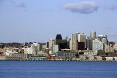 Seattle miasta linia horyzontu zdjęcie royalty free