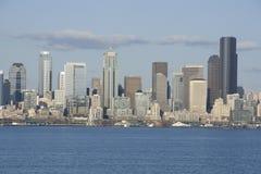 Seattle miasta linia horyzontu obrazy stock