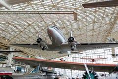 SEATTLE WA - APRIL 8, 2017: Museet av flyget i Seattle, Washington, USA Royaltyfria Bilder