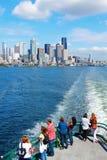 Seattle, WA - 23 de março de 2011: Vista do centro da balsa Imagens de Stock Royalty Free