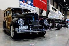SEATTLE, WA - 12 DE NOVIEMBRE DE 2017: Salón del automóvil del International de Seattle Imagenes de archivo