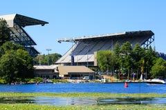 Seattle, WA - 23. März 2011: University of Washington - Husky Stadium Lizenzfreies Stockbild