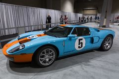 SEATTLE, WA - 12. NOVEMBER 2017: Seattle-International-Automobilausstellung Lizenzfreie Stockfotos