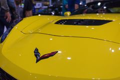 SEATTLE, WA - 12 NOVEMBRE 2017 : Salon de l'Auto d'International de Seattle Photos libres de droits