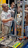 SEATTLE, WA - State Teen Robotics Competition Royalty Free Stock Photo