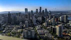 Seattle Washington. Seattle is an amazing city. Friendly clean and historic Royalty Free Stock Images