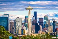 Seattle, Washington, de V stock foto's
