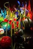 Seattle, Washington, EUA - 10 02 2018: Jardim de Chihuly e exposição de vidro imagens de stock royalty free