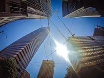 Seattle Washington miasta ulicy i linia horyzontu Zdjęcie Stock