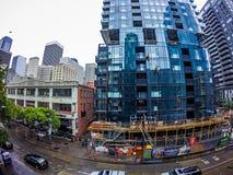 Seattle Washington miasta ulicy i linia horyzontu Zdjęcie Royalty Free