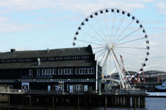 Seattle, Washington Pier Stockbild