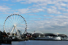 Seattle, Washington Pier Lizenzfreie Stockfotos