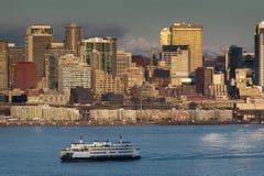 Seattle, Washington Skyline Stock Image