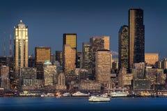 Seattle, Washington Skyline Royalty Free Stock Images