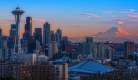 Seattle, Washington State Images libres de droits