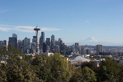 Seattle Washington United States van Amerika Stock Foto's