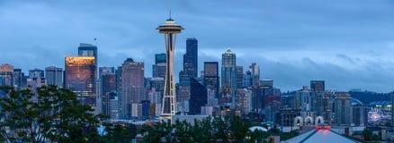 Sunset Seattle Stock Photo
