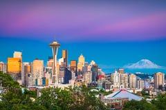 Seattle, Washington, USA Skyline Stock Photo